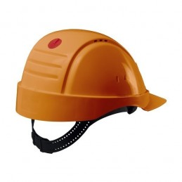 Peltor G2000 Uvicator Ventilé (Orange), Harnais