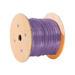 Dexlan cable monobrin f/ftp CAT6A violet LS0H RPC Eca - 500M
