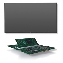 "NEC 55"" LED - MultiSync V554 + NEC Raspberry Pi 3 Compute Module + Interface Voomnet.ci"
