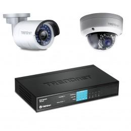 TRENDnet TV-IP310PI + TV-IP311PI + TPE-S44