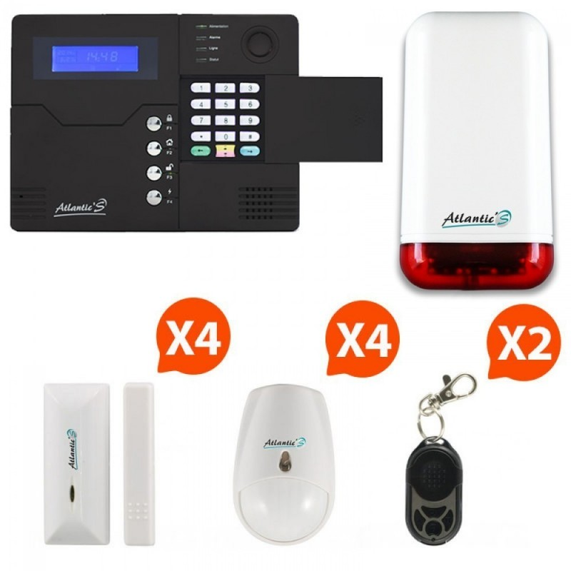 ALARME GSM ATLANTIC'S ST-V - KIT CD1