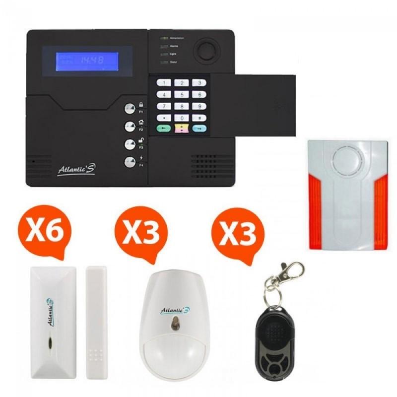 ALARME GSM ATLANTIC'S ST-V - KIT 5