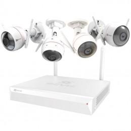 EZVIZ ezWireless Kit - Vault Plus 8 canaux + 4 caméras IP