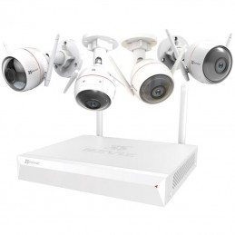 EZVIZ ezWireless Kit - Vault Plus 4 canaux + 4 caméras IP