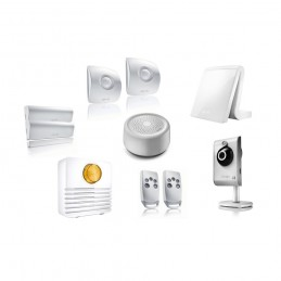 PACK ALARME CONNECTÉE SOMFY TAHOMA - KIT 4