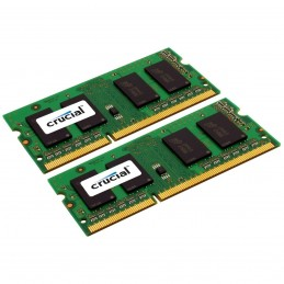 Crucial SO-DIMM 16 Go (2 x 8 Go) DDR3 ECC 1600 MHz CL11