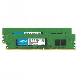 Crucial DDR4 ECC Registered 16 Go (2 x 8 Go) 2666 MHz CL19 SR