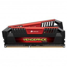 Corsair Vengeance Pro Series 16 Go (2 x 8 Go) DDR3 1600 MHz CL9 Red voomstore.ci