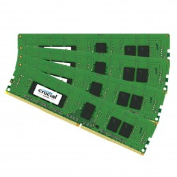 Crucial DDR4 16 Go (4 x 4 Go) 2400 MHz CL17 ECC Registered SR