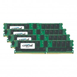 Crucial DDR4 16 Go (4 x 4 Go) 2666 MHz CL19 ECC Registered SR