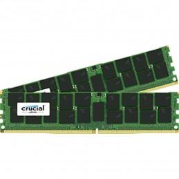 Crucial DDR4 32 Go (2 x 16 Go) 2400 MHz CL17 ECC DR