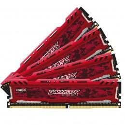Ballistix Sport 64 Go (4 x 16 Go) DDR4 2400 MHz CL16 -