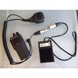 Pédale PTT grutier pour Motorola