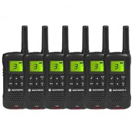 Pack de 6 talkies Motorola TLKR T60