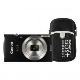 Canon IXUS 185 Noir + Vanguard Beneto 6