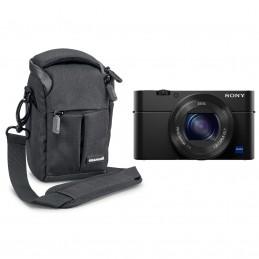 Sony DSC-RX100 IV + Cullmann Malaga Vario 100 Noir