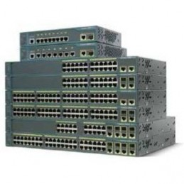 Cisco Catalyst 2960 PLUS 24 10/100 POE 2T/SFP Lan Base - WS-C2960+24PC-S