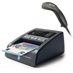Safescan Détecteur de faux billets 155-S Noir + ZEBEX - Magic C - Z-3100 Noir + Stand Noir