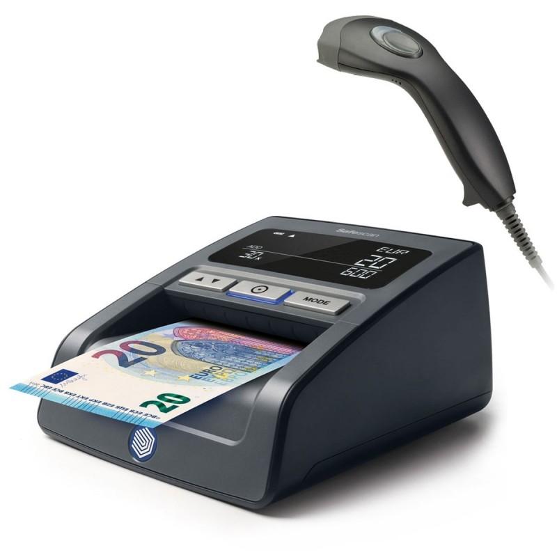 Safescan Détecteur de faux billets 155-S Noir + ZEBEX - Magic C