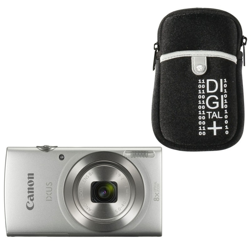 Canon IXUS 185 Argent + Vanguard Beneto 6 Noir voomstore.ci