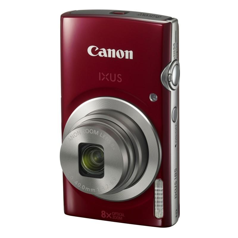 Canon IXUS 185 Rouge + Vanguard Beneto 6 Noir voomstore.ci