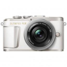 Olympus E-PL9 Blanc + 14-42mm EZ Pancake