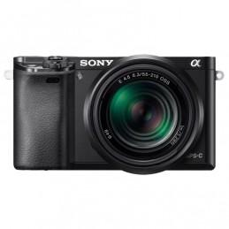 Sony Alpha 6000 + Objectifs 16-50 mm & 55-210 mm Noir