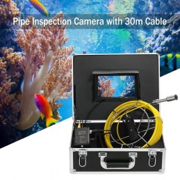 Lixada Caméra d'inspection d'égout de Tuyaux 30 M