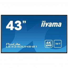 "iiyama 43"" LED - Prolite LE4340UHS-B1"