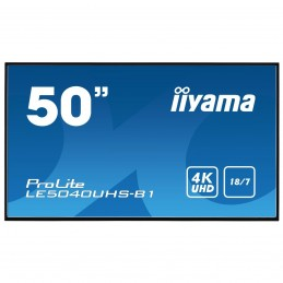 "iiyama 50"" LED - ProLite LE5040UHS-B1 voomstore.ci"