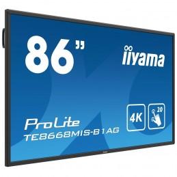 """iiyama 86"""" LED - Prolite TE8668MIS-B1AG voomstore.ci"""