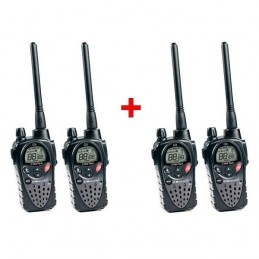 Pack quatro : Talkies Walkies Midland G9 Plus voomstore.ci