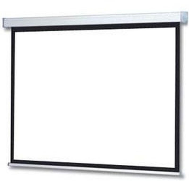 VOOMSTORE  Ecran motorisé - Format 16:9 - 240 x 135 cm