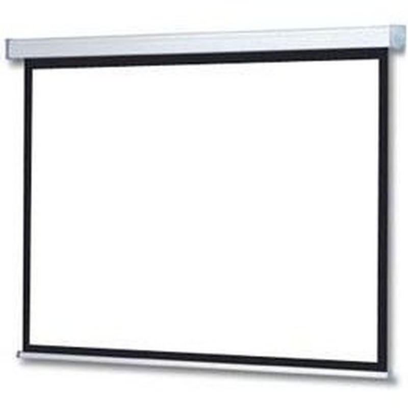 VOOMSTORE Ecran motorisé - Format 16:9 - 200 x 113 cm
