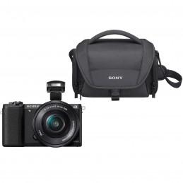 Sony Alpha 5100 + Objectif 16-50 mm Noir + LCS-U21 Noir voomstore.ci