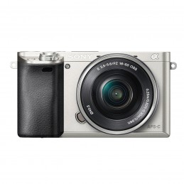 Sony Alpha 6000 + Objectif 16-50 mm Argent  voomstore.ci