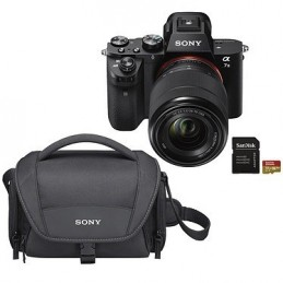 Sony Alpha 7 II + 28-70 mm + LCS-U21 Noir + SanDisk Extreme microSDHC UHS-I U3 V30 32 Go + Adaptateur SD voomstore.ci