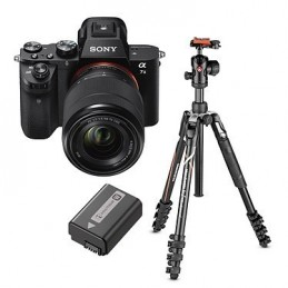 Sony Alpha 7 II + 28-70 mm + NP-FW50 + Manfrotto Befree Advanced MKBFRLA-BH