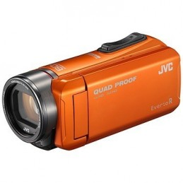 JVC GZ-R405 Orange + carte mémoire SD 8 Go voomstore.ci