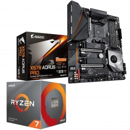 Kit Upgrade PC AMD Ryzen 7 3800X Gigabyte X570 AORUS PRO