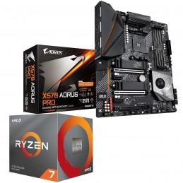Kit Upgrade PC AMD Ryzen 7 3700X MSI MPG X570 GAMING EDGE