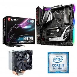 Kit Upgrade PC Core i7 MSI MPG Z390 GAMING PRO CARBON AC