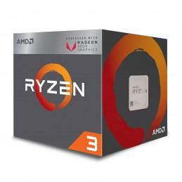 AMD Ryzen 3 2200G Wraith Stealth Edition (3.5 GHz) avec mise à