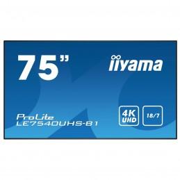"iiyama 75"" LED - ProLite LE7540UHS-B1"