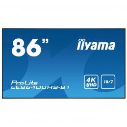 "iiyama 86"" LED - ProLite LE8640UHS-B1"