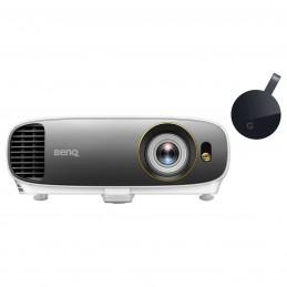 BenQ W1720 + Google Chromecast Ultra