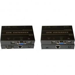 Kit d'extension KVM professionnel sur réseau Ethernet (jusqu'à 150 mètres)