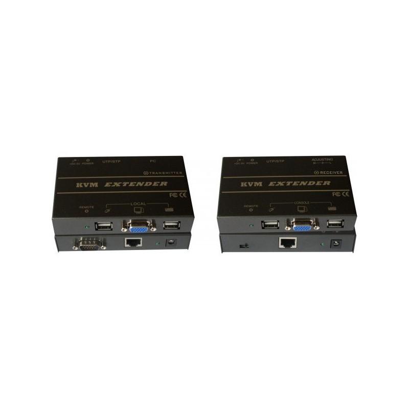 Kit d'extension KVM professionnel sur réseau Ethernet (jusqu'à