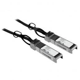 StarTech.com Câble réseau passif 2 m SFP+ 10 GbE à connexion directe twinax en cuivre compatible Cisco