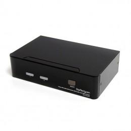 StarTech.com KVM switch écran clavier souris, 2 ports DVI, USB et Audio